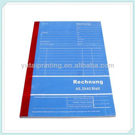 Rechnung Buchen Englisch Ma 223 Geschneiderte Restaurant Kellner Bestellblock Durchschreibepa Pier Produkt Id 1571226034