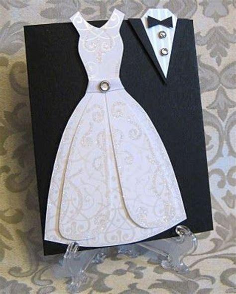 3d Dress Card Template by صور بطاقة دعوة زفاف مميزة Yasmina