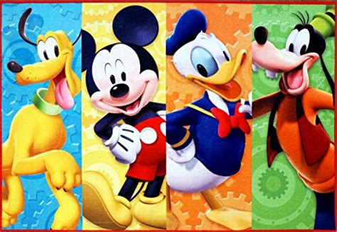 Mickey Mouse Clubhouse Rug by Disney Mickey Mouse Clubhouse Rug Hd Digital Mmch
