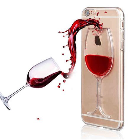 Casing Gelas Wine Hardcase Iphone 5 5s Se liquid 3d wine glass cocktail bottle phone cover for iphone 5 se 6s 7 plus ebay