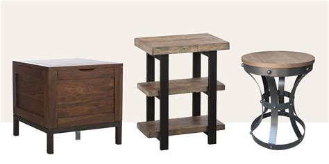 rustic wood end tables 15 best rustic end tables in 2018 modern country wood