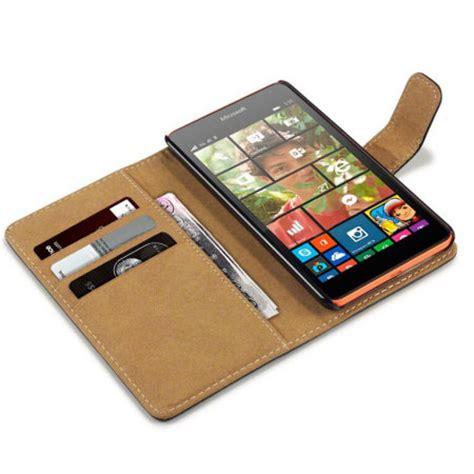 Casing Microsoft Lumia 532 encase microsoft lumia 532 wallet black