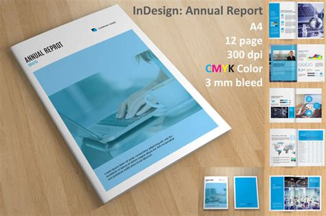 Free Download Company Profile Templates Indesign 187 Designtube Creative Design Content Indesign Report Template