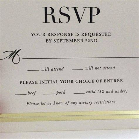 Wedding Song Reddit by The Hilarious Typo That Made This Wedding Rsvp Card Go