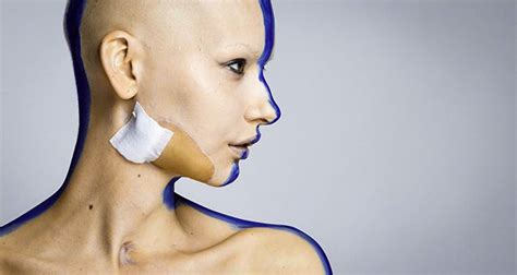 pictures of a woman s neck and jaw line this incredible woman returned to modeling after she lost