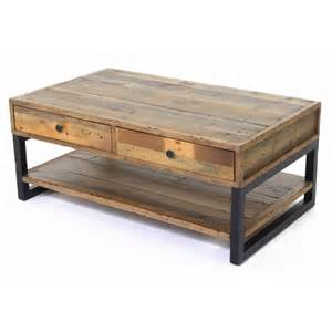 table basse pin massif