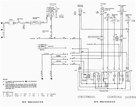 mitsubishi warrior wiring diagram wiring diagram with