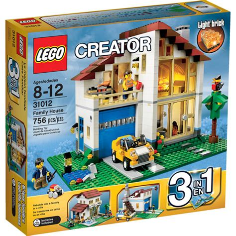 Walmart House by Lego Creator Family House Play Set Walmart
