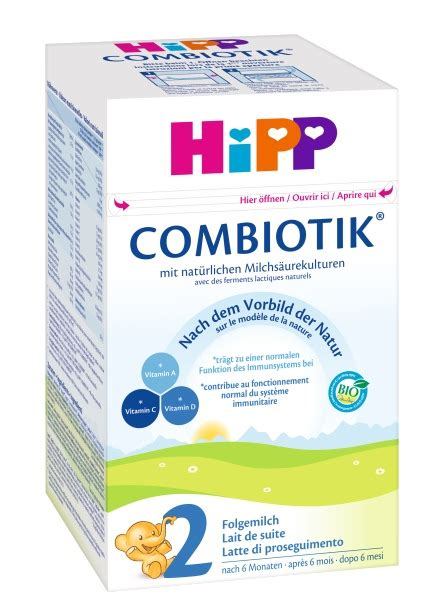 folgemilch 2 ab wann hipp bio combiotik 2 folgemilch ab 6 monat 600g