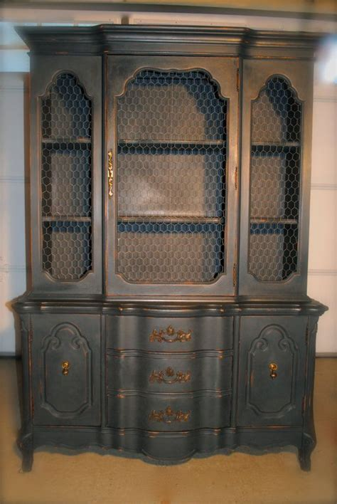 distressed china cabinet antique distressed china cabinet with by countryrestorations 675 00 for the home