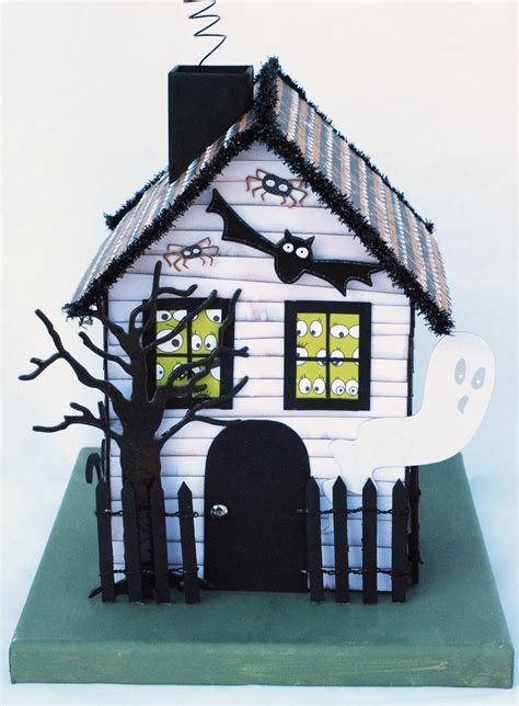 How To Make A Paper Haunted House - a blessed everyday with dorsey happy october