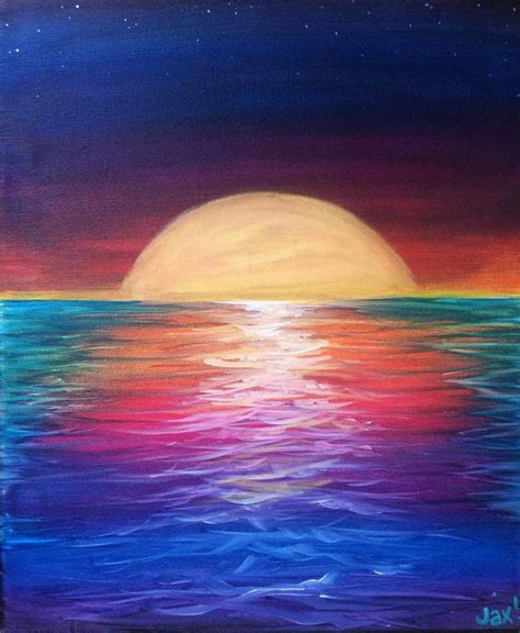 acrylic paint near me 25 best ideas about drawing sunset on