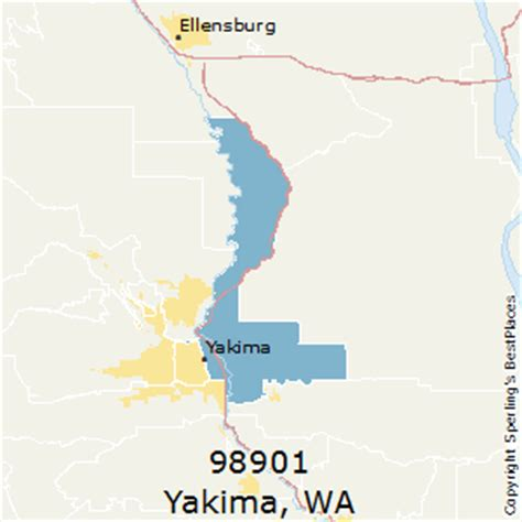 zip code map yakima county best places to live in yakima zip 98901 washington