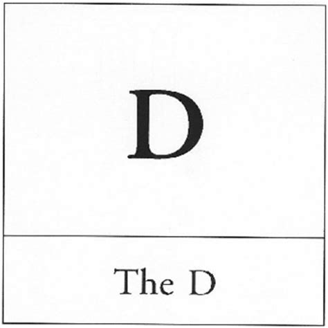 The D Meme - the d know your meme