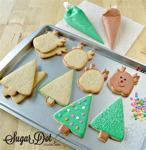 Cookie Decorating Kit by Order Winter Sugar Cookies Custom Decorated Frederick Md Sugar Dot Cookies