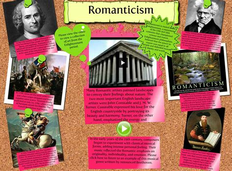 themes romanticism literature history of the the romantic movement