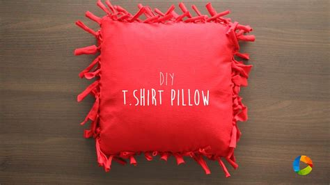 diy t shirt pillow