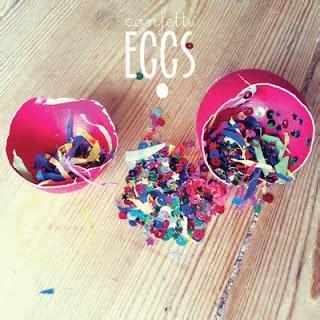 Huevos Confeti Para Pascua Paperblog Que Es El Colorante Alimentario L