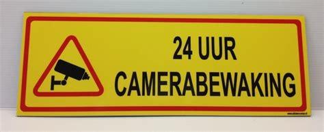 Sticker Camerabewaking Bestellen by Camerabewaking Stickers Borden Stickers Enzo Nl