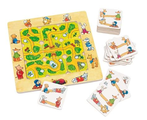 etagere jeux de societe trouve le chemin jouet bois goki