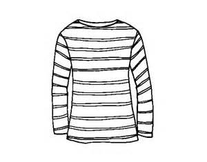 Coloriage De Tee Shirt Manche Longue Pour Colorier