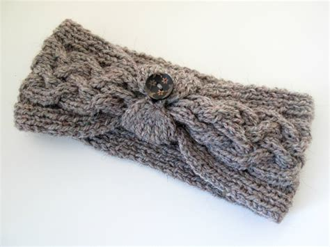 cable knit headband cable knit headband patterns a knitting