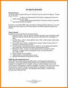 How To Write Incident Report Sample 12 How To Write An Employee Incident Report Ledger Paper
