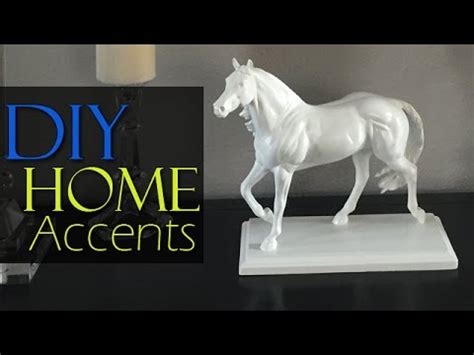 diy high end inspired white statue home decor