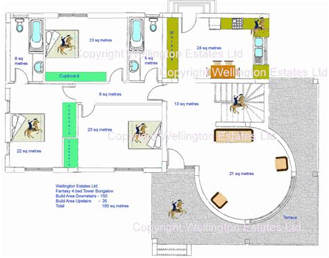 bungalow ground floor plan fantasy tower 4 bedroom bungalow ground floor plan