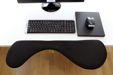 desk with wrist rest ergonomic keyboard and mouse wrist support arm rest