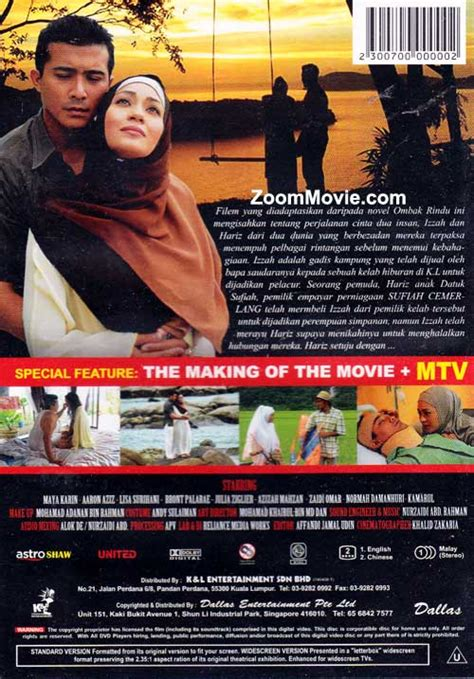 film ombak rindu 2 ombak rindu dvd malay movie 2011 cast by aaron aziz