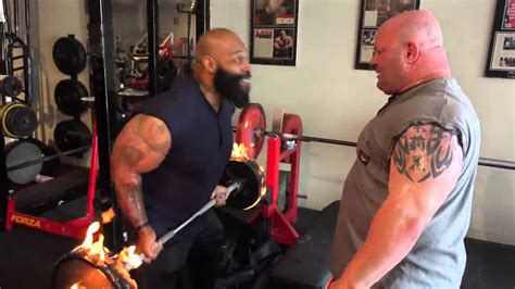 ct fletcher bench press record fiery curl bar with ct fletcher scot mendelson youtube