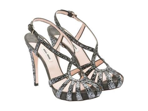 Shoes Miu Miu D6003 Semprem miu miu tacchi alti e strass per le scarpe da sera per l