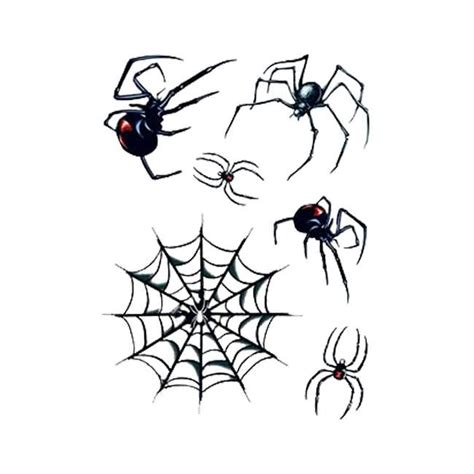black widow spider tattoo designs spider web with amazing black widows on paper