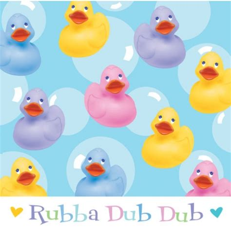 rubber ducky baby shower supplies rubber ducky baby shower napkins bubbles and rainbows