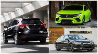 new coming cars in india upcoming new honda cars in india in 2016 2017