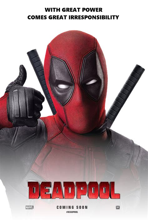 deadpool poster friday comic book fight club of records