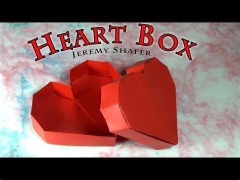 tutorial origami corazon tutorial origami heart box coraz 243 n en origami youtube