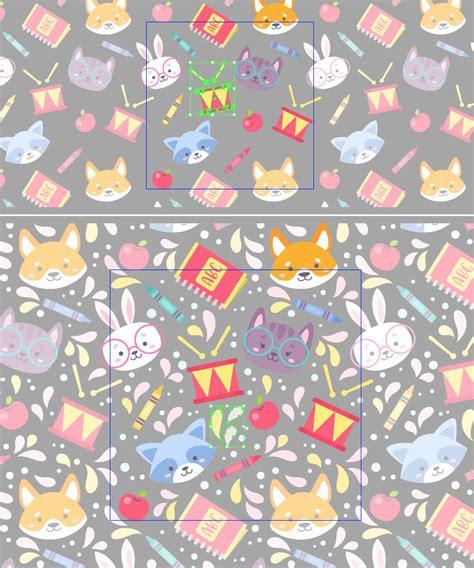 pattern trong ai tutorial c 225 ch tạo một mẫu pattern trường học vui tươi
