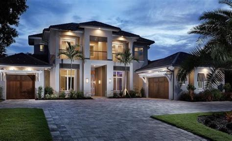 Florida House Plans With Pool 3 795 Million Newly Built Modern Transitional Home In