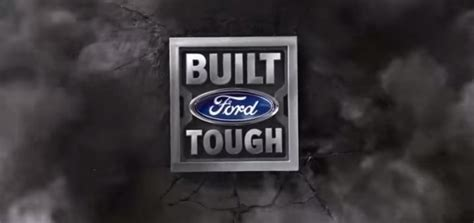 Built Ford Tough Logo by 2017 Ford Duty Trucks Advanced System