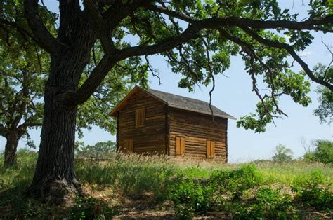 Kettle Moraine Cabins by Oleson Cabin In The Kettle Moraine State Forest Photo