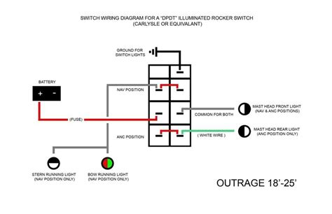 dpdt on toggle switch wiring diagram get free image