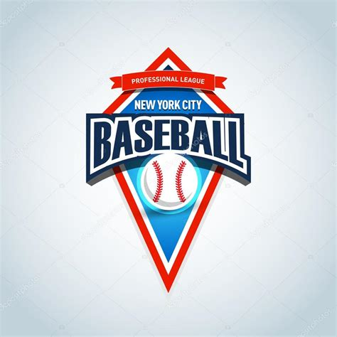 baseball team logo template stock vector 169 ideasign