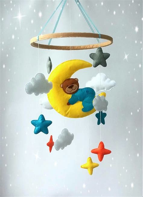 Baby Mobile For Crib Boy Nursery Mobile Baby Crib Mobile Baby Mobile Crib Mobile