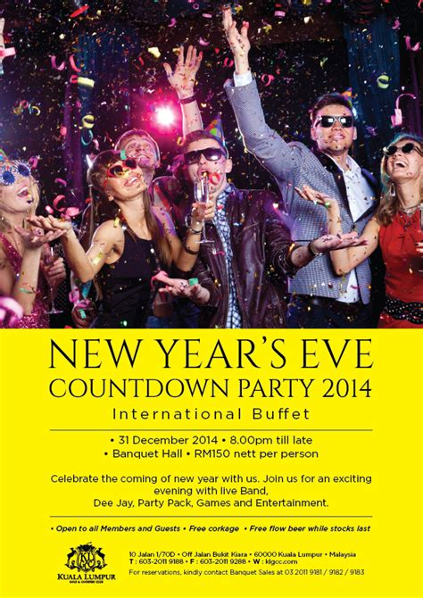 new year 2015 in malaysia welcoming 2015 with style at kuala lumpur golf country