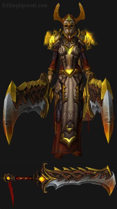 Lining Wow 2 0 Warrior Original 25 best ideas about warrior transmog on
