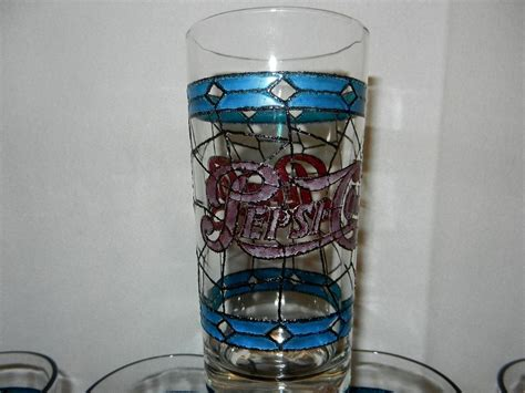 antique tiffany ls value vintage tiffany style stain glass pepsi glasses from