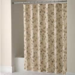 essential home shower curtain classic fabric home
