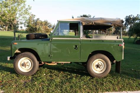 1970 land rover for sale for sale 1970 land rover series ii a convertible
